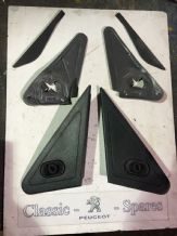 peugeot 205 1.6 /1.9 gti all 205's Phase 2 Mirror Backing Plates